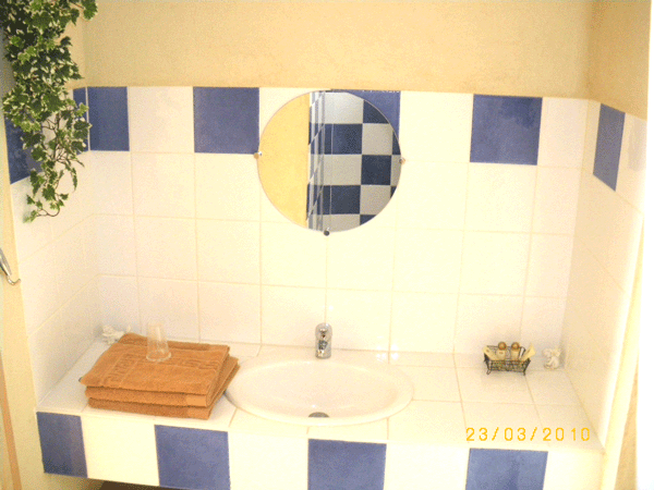 lavabo chambre anges